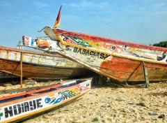 Voyages : Afrique Bateau du Sénégal