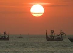 Voyages : Asie Coucher de soleil à Bali
