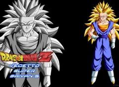Manga Fond d'écran de Vegetto super saiyan 3