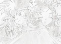 Art - Pencil Les légendaires