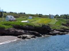 Voyages : Amérique du nord Paysage/Île Bonaventure en Gaspésie