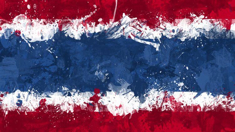Fonds d'écran Art - Numérique Voyage - Drapeaux Drapeau Thaïlande