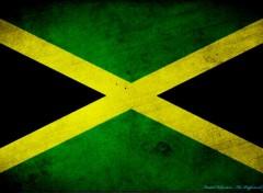Digital Art Drapeau Jamaïque