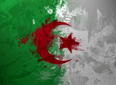 Digital Art Drapeau Algerie