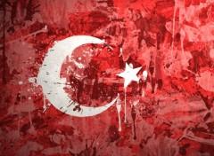 Digital Art Drapeau Turquie