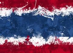 Art - Numérique Drapeau Thaïlande