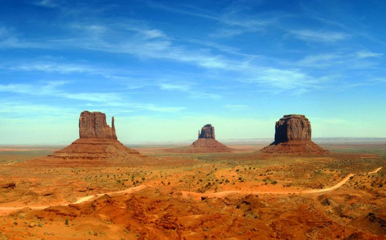 Wallpapers Nature Canyons Monument Valley