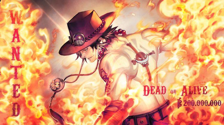 Fonds d'écran Manga One Piece Hiken no Ace! dead or alive