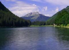 Nature lac de montriond ;)