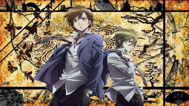 Fonds d'écran Manga Zetsuen No Tempest Zetsuen no tempest: Mahiro & Yoshino