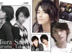 Célébrités Homme Miura Haruma et Satoh Takeru