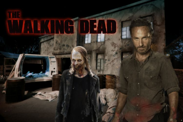 Fonds d'écran Séries TV The Walking Dead walking dead