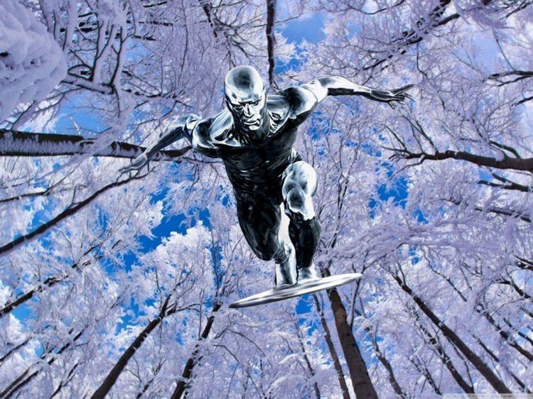 Fonds d'écran Comics et BDs Silver Surfer Wallpaper N°323072
