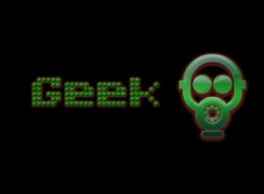 Computers Geek Green