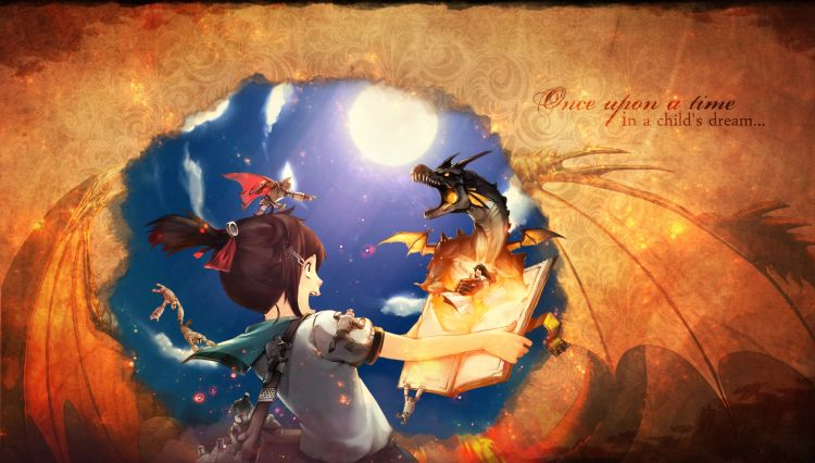 Wallpapers Fantasy and Science Fiction Tales Il était une fois