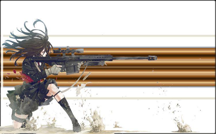 Fonds d'écran Manga Divers girl  war