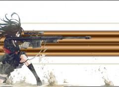 Manga girl  war
