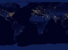 Espace Lumières sur Terre