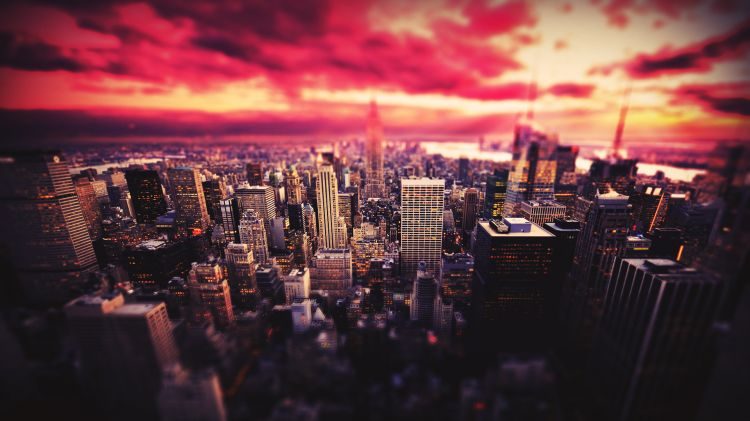 Wallpapers Constructions and architecture Cities - Towns Redsky
