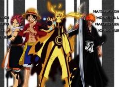 Manga Four Heroes