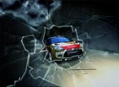 Voitures Citroën ds3 wrc abu dhabi 2013 sebastien loeb monte carlo