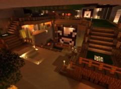 Video Games Mon manoir dans Minecraft