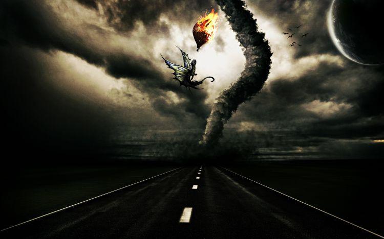 Fonds d'écran Art - Numérique Fantaisie Journey to hell