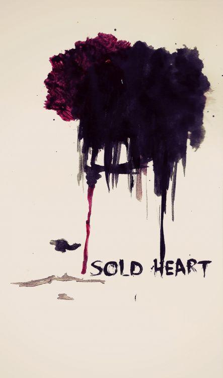 Fonds d'écran Art - Peinture Abstrait Sold Heart