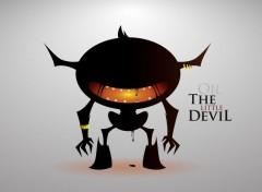 Digital Art Oil the little Devil