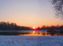Nature Lac enneigé