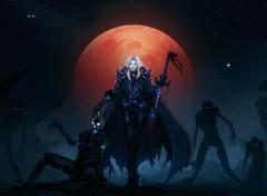 Jeux Vidéo Chevalier de la mort Elfe de sang