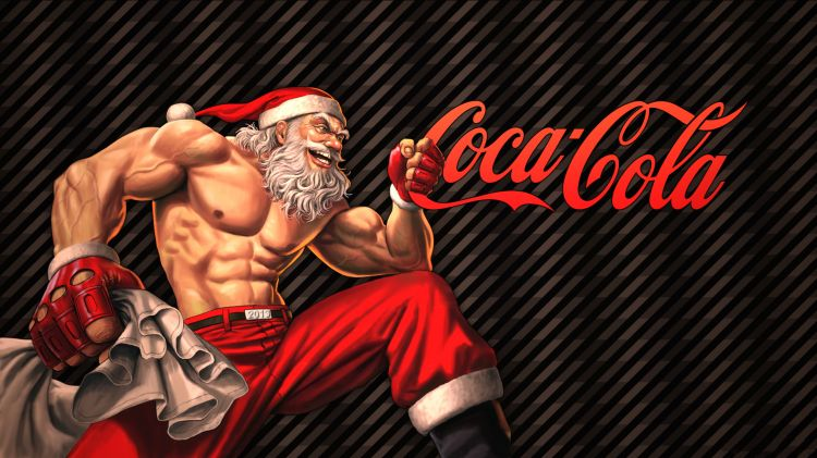 Wallpapers Brands - Advertising Coca-Cola Coca Cola Christmass Theme