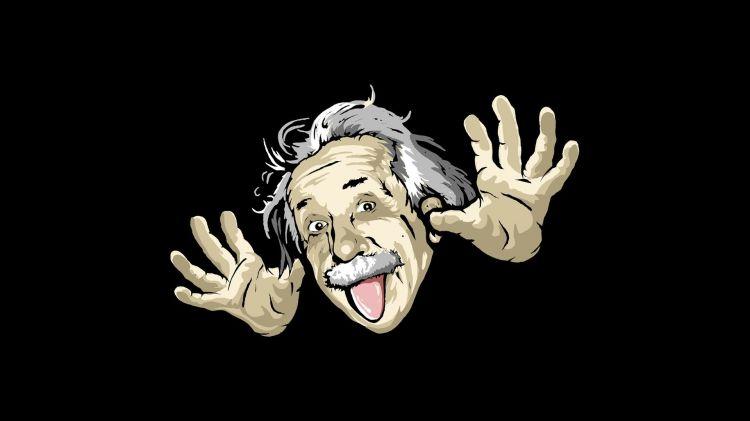 Fonds d'écran Célébrités Homme Albert Einstein Wallpaper N°329342
