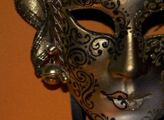 Objets Masque Italien