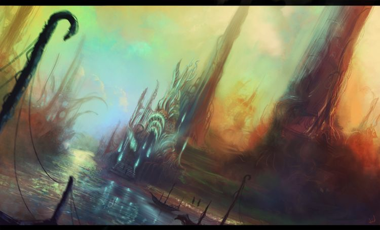 Wallpapers Fantasy and Science Fiction Fantasy Landscapes Chaelia