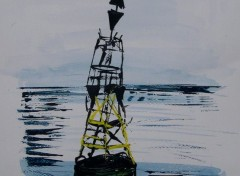 Art - Peinture Cardinale est