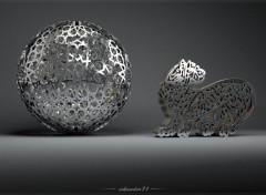 Art - Numérique Calligraphie 3d