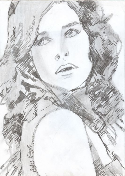 Wallpapers Art - Pencil Portraits artiste