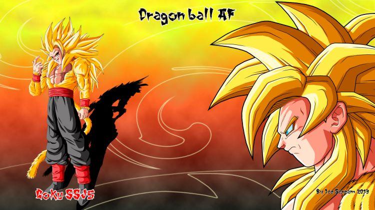 Wallpapers Manga Wallpapers Dragon Ball Af Goku Ssj5 Db Af