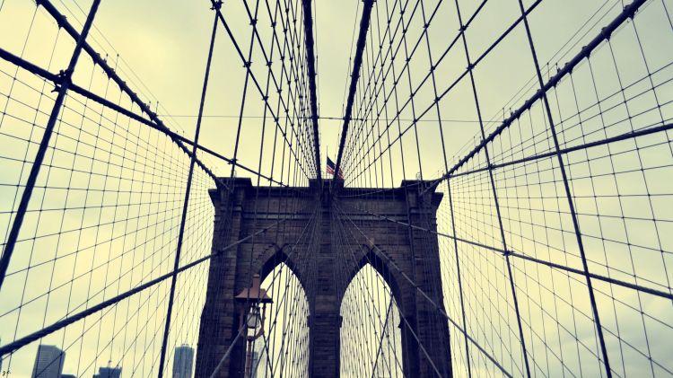Fonds d'écran Voyages : Amérique du nord Etats-Unis > New York Brooklyn Bridge