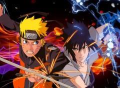 Manga Naruto vs Sasuke