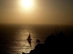 Trips : Europ Oia Sunset