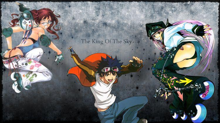 Wallpapers Manga Air Gear Riders