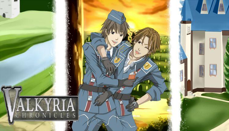 Fonds d'écran Manga Valkyria Chronicles valkyria C