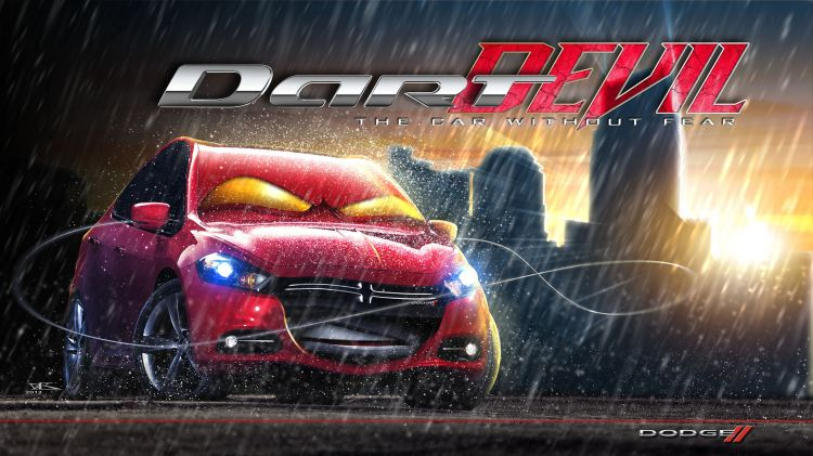 Fonds d'écran Dessins Animés Cars 1 et 2 Dart Devil