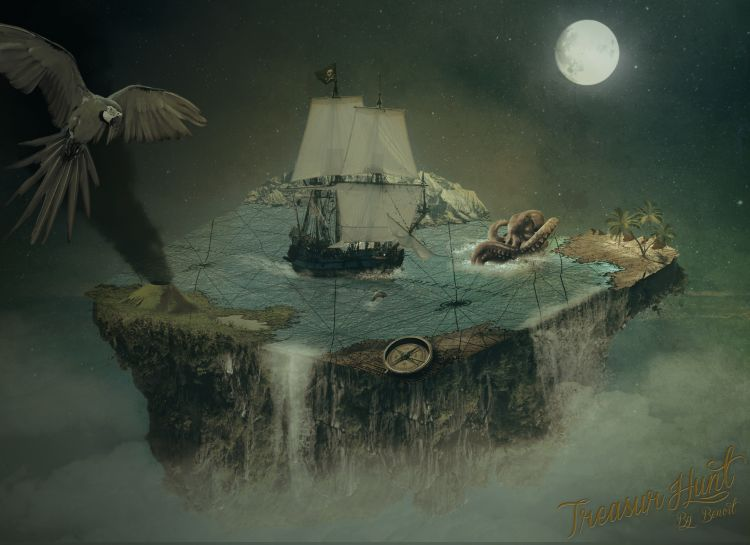 Wallpapers Fantasy and Science Fiction Pirates Wallpaper N°332834