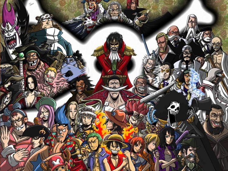 Fonds d'écran Manga > Fonds d'écran One Piece One Piece par good-job - Hebus.com