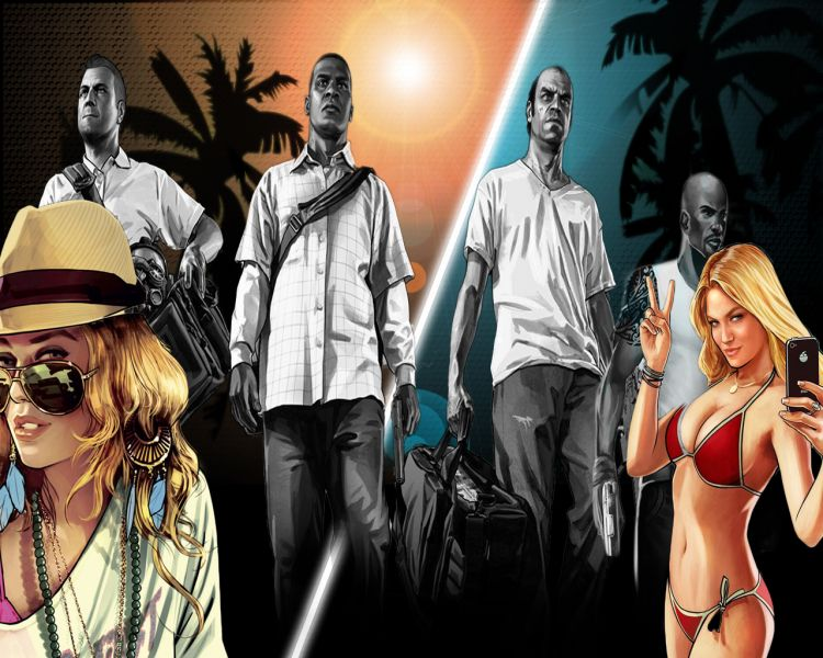 Fonds d'écran Jeux Vidéo GTA 5 Wallpaper N°333301