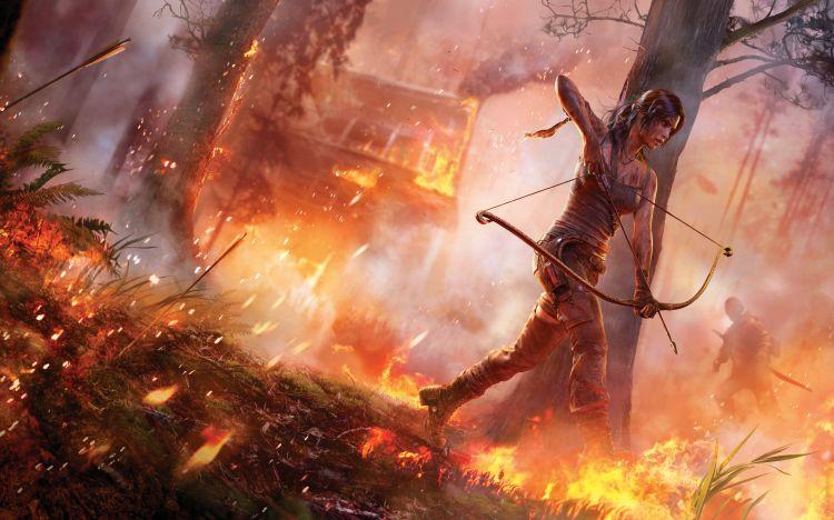 Fonds d'écran Jeux Vidéo Tomb Raider tomb raider 2013 lara croft