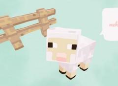 Jeux Vidéo Meh - agneau Minecraft